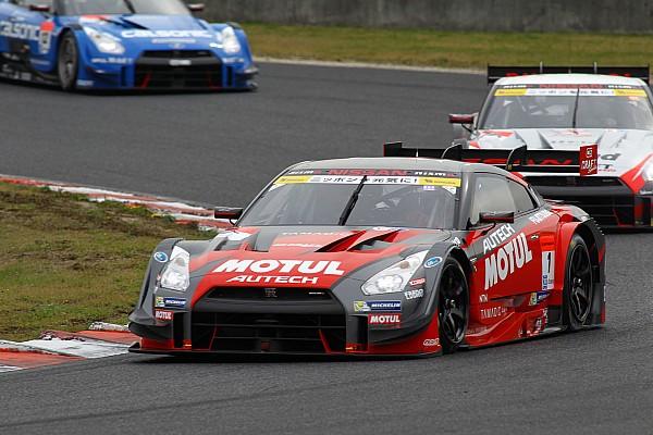 Nissan wins Okayama Super GT with championship-winning duo – video