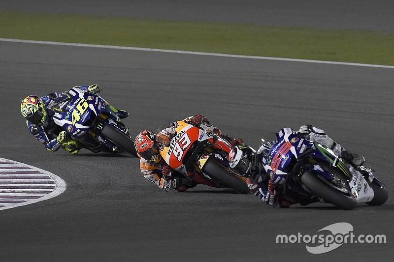 MotoGP Qatar: Lorenzo berkuasa, Rossi meragukan