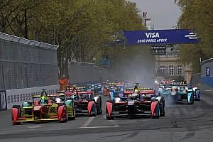 フォーミュラE レースレポート ディ・グラッシが2連勝。初のパリ市街地レース制圧:FE第7戦パリePrix決勝