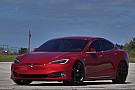 OTOMOBİL Tesla Model S P100D Ludicrous'un Huracan Performante İle Yarışı