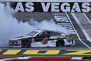 NASCAR Cup Rennbericht Kevin Harvick knackt NASCAR-Jackpot in Las Vegas