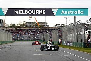 Hamilton y Vettel se enzarzan en la rueda de prensa de Australia