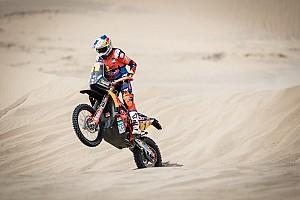 Dakar Rapport d'étape Motos, étape 3 - Sunderland s'impose sur le fil