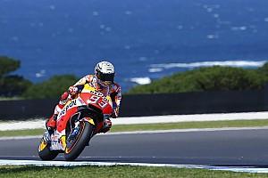 MotoGP Practice report FP1 MotoGP Australia: Marquez tercepat, Dovizioso keempat