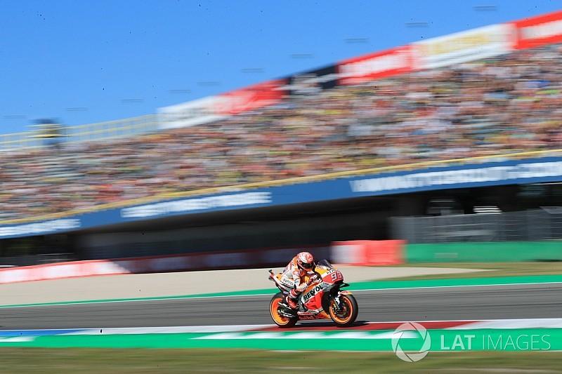 Starting grid MotoGP Belanda 2018