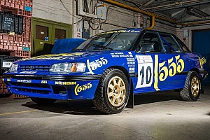 Automotive Breaking news 1993 Subaru Legacy RS driven by Richard Burns heading to auction