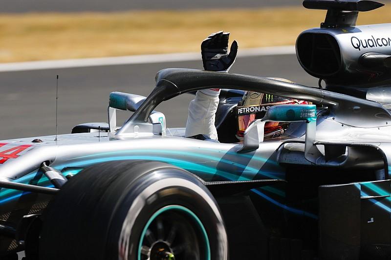 La remontada de Hamilton en casa le da el 'Piloto del día'