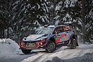 WRC Sweden WRC: Neuville leads Mikkelsen, Ogier off the pace