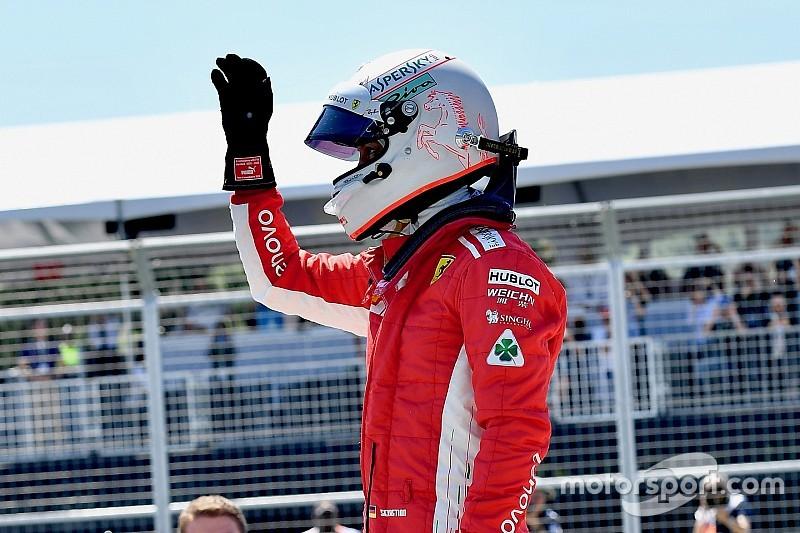 Феттель впервые в сезоне стал «гонщиком дня»