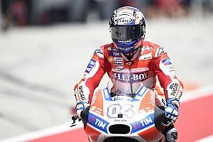 MotoGP Practice report MotoGP Malaysia: Dovizioso pimpin warm-up, Marquez kedelapan