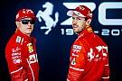 VIDEO: Vettel y Raikkonen manejan un Alfa Romeo con motor Ferrari