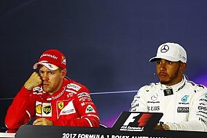 """F1 Noticias de última hora Hamilton: """"Vettel no quiere ser mi compañero"""""""