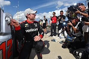 IndyCar Qualifying report Barber IndyCar: Power takes pole, leads Penske 1-2-3