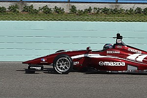 Indy Lights Qualifying report St Pete Indy Lights: Telitz takes pole on series debut