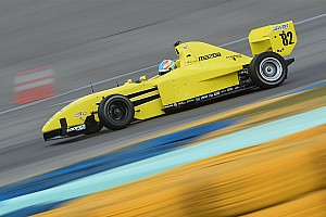 Pro Mazda Testing report Fischer, Askew top Mazda Road To Indy test on Day 1