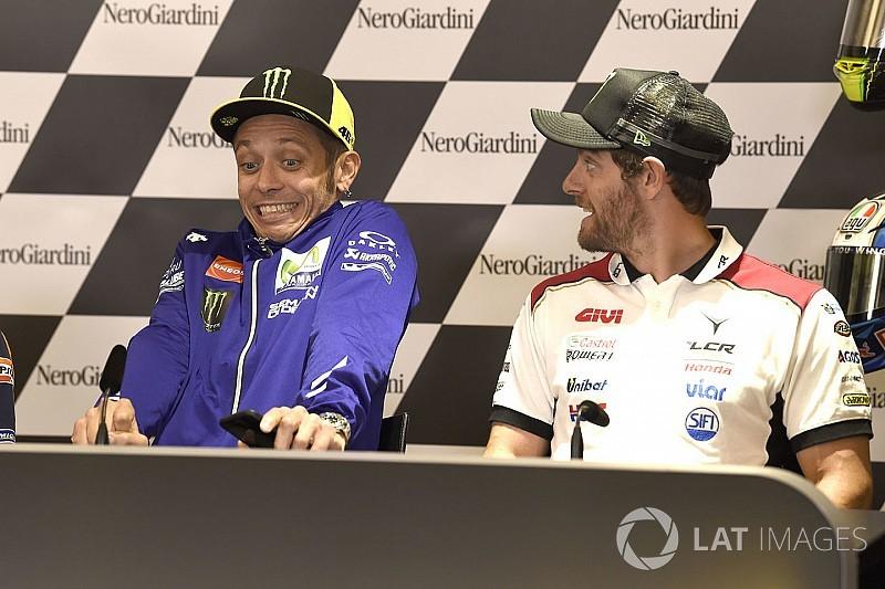 Crutchlow: Rossi fantastis, semua orang ingin patah kaki
