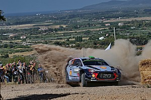 WRC Leg report Italy WRC: Paddon takes narrow lead as Meeke crashes