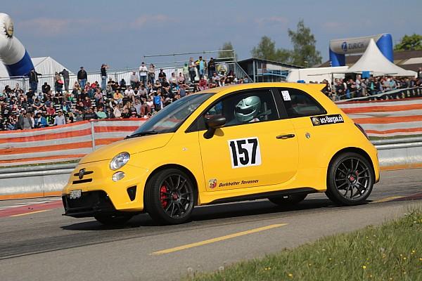 Coupes marques suisse Abarth Trofeo : retour spectaculaire pour Sylvain Burkhalter