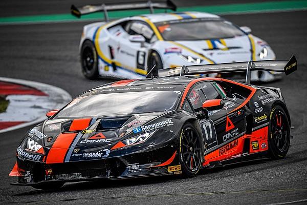 Lamborghini Super Trofeo Al Nürburgring Grenier e Spinelli festeggiano in Gara 1 il loro quarto successo