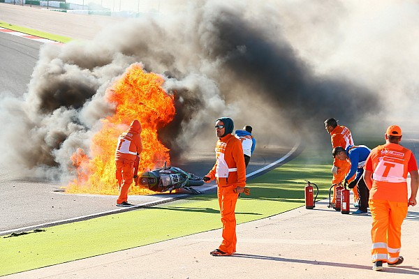 Superbike-WM Reaktion Tom Sykes nach Feuerunfall in Portimao: