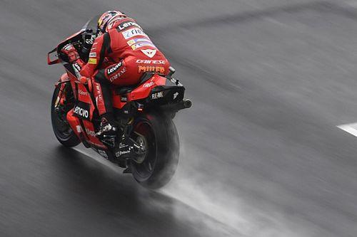Emilia Romagna MotoGP: Miller tops FP2 session in damp conditions