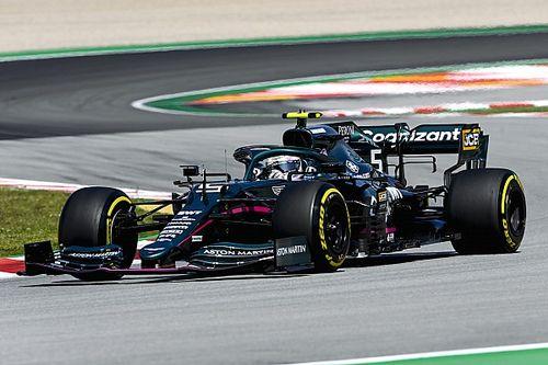 Vettel, más cómodo con el Aston Martin tras las actualizaciones
