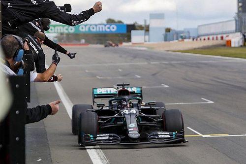 Welke Grands Prix won Hamilton, en op welke circuits?