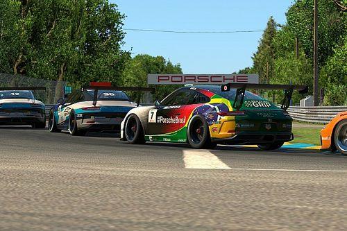 Jeff Giassi acelera na penúltima etapa da Porsche TAG Heuer Esports Supercup em Le Mans
