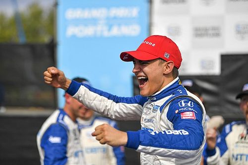 Portland IndyCar: Palou recovers from Turn 1 chaos to win