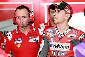 Lorenzo aan de start in Valencia voor