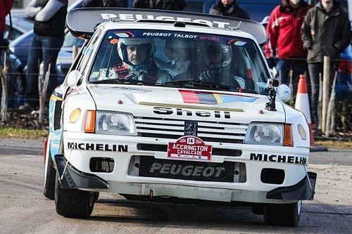 Une Peugeot 205 T16 aux enchères