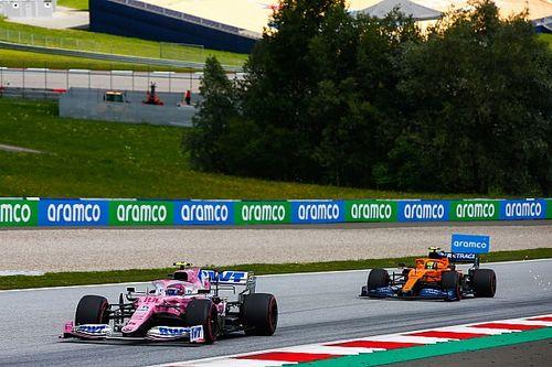 迈凯伦:Racing Point的旧梅赛德斯赛车会让对手难以竞争