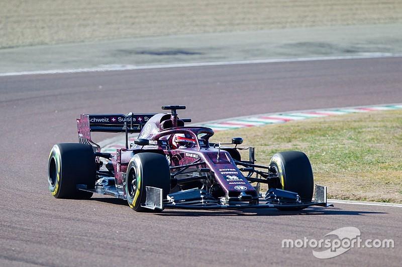 Alfa Romeo estrena su monoplaza 2019 en Fiorano
