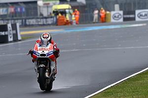 MotoGP Últimas notícias Lorenzo revela que não se sentiu seguro em pista molhada