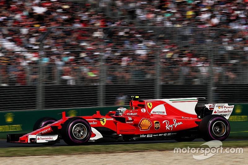 A Raikkonen no le decepciona haber quedado fuera del podio
