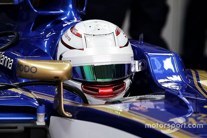 Перший досвід за кермом Формули 1 став особливим для Джовінацці