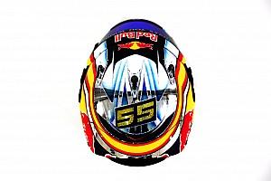 Fórmula 1 Galería Sainz muestra cómo será su casco este 2017