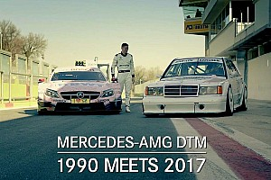 DTM Special feature Past meets present: 1990 DTM car vs 2017 DTM car