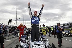 IndyCar Reporte de la carrera Rahal domina en la carrera 1 en Detroit