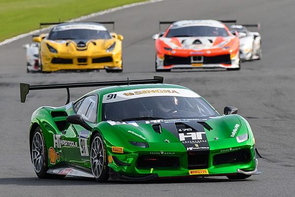 Ferrari Silverstone sorride a Baron, Froggatt e Hassid