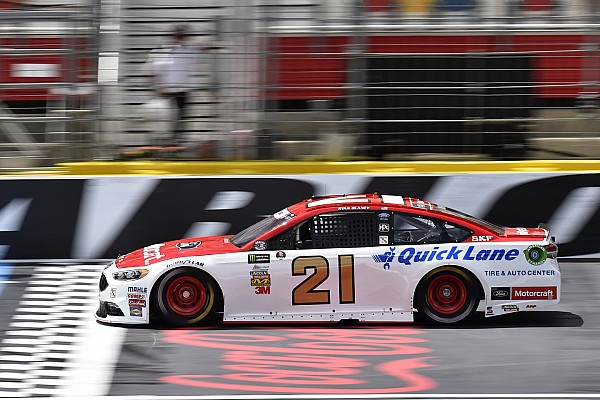 NASCAR Cup Ryan Blaney leads Saturday morning Cup practice