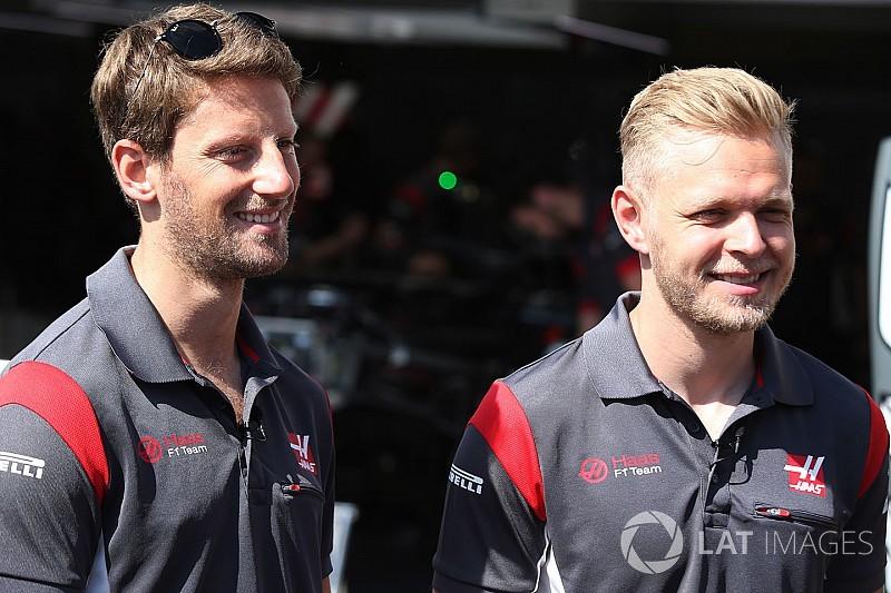 Haas, 2018'de Magnussen ve Grosjean ile devam edecek