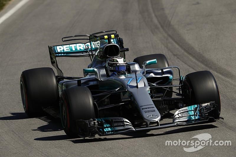 Bottas a lutté avec l'équilibre de sa Mercedes