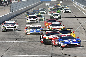 IMSA Race report Sebring 12h: Hr 7 – Four-marque six-car scrap rages in GTLM