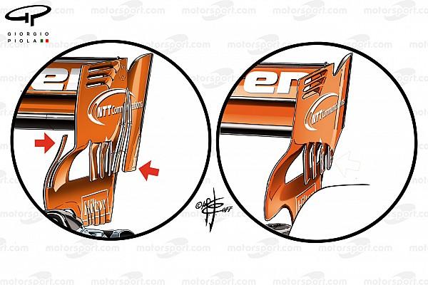 Formula 1 Analisis Analisis teknis: McLaren cari tambahan downforce