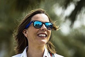 Формула 1 Новость Клэр Уильямс вышла замуж