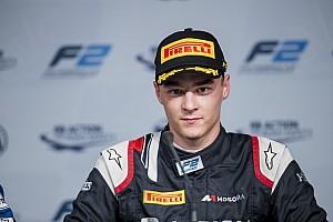 FIA F2 Qualifying report Abu Dhabi F2: Markelov secures maiden pole