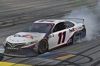 NASCAR Talladega: Denny Hamlin gewinnt turbulentes Crashfest