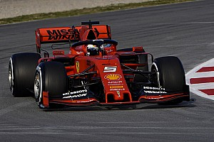 Ferrari vuelve a los logos de Mission Winnow en Bahrein