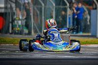 Paura per Antonelli al mondiale di kart a Portimao